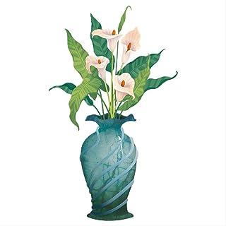 Xuan Guan Fondo De La Pared Etiqueta Engomada Decorativa Herradura Flor De Loto Etiqueta De La Pared Pequeño Dormitorio Fresco Cálido Autoadhesivo Wallpaper Etiqueta 60 * 90 Cm