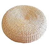 Shape Ammorbidire Il Cuscino Tatami Naturale di Seduta Piatta Traspirante Ecologico Stile Giapponese Migliore per Zen, Yoga Practice o Buddha Meditation Cushion