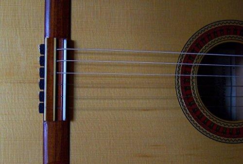 Rosette Diamond Secure Classical Guitar String Ties / New Low Profile BridgeBeads