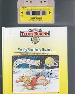 Teddy Ruxpin Lullabies - Book and Cassette (Teddy Ruxpin Adventure Series)