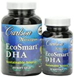 Carlson Labs Ecosmart DHA 500 Mg Mineral Supplement Softgels, 80 Count