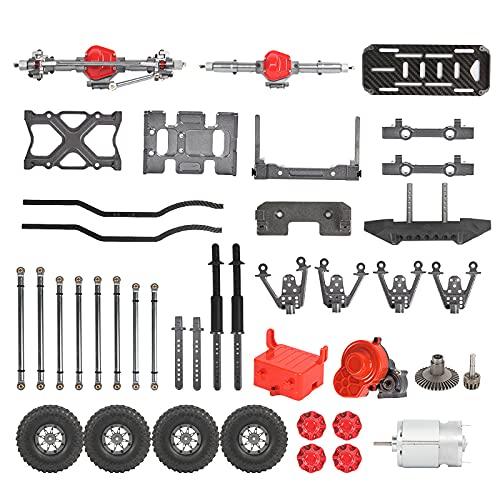 RB-X10KM - Juego de marcos de metal para coche teledirigido HuiNa SCX10