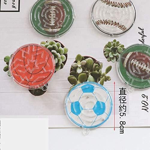 3D Maze Puzzle Juegos de Mesa Animal Smiley Steel Ball Track Laberintos Early Educational Brain Teaser Jisaw Rompecabezas creativos Juguetes para niños