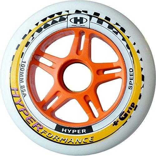 Hyper Hyperformance Plus G Inliner Rollen für Erwachsene, Inline-skates-Komponente, Sport & Freizeit - Größe: 100mm