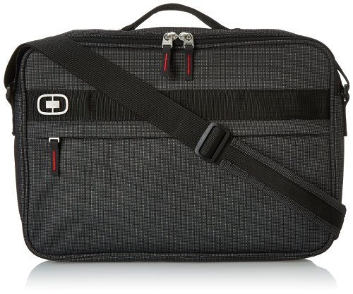 "OGIO International Renegade Brief Laptop Backpack, Black Pindot, 11""H x 15.5""W x 2.5""D"