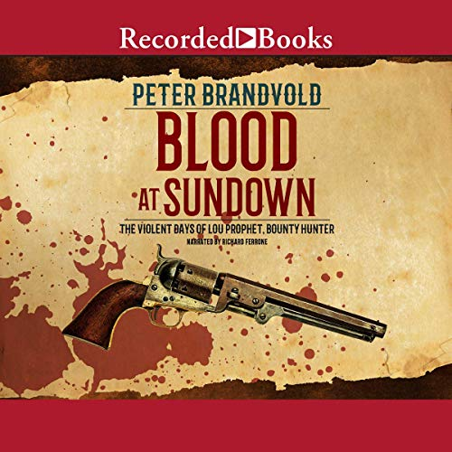 Blood at Sundown audiobook cover art