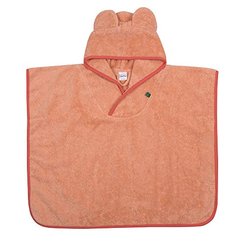 Fred's World by Green Cotton baby-meisjes Towel poncho badpak