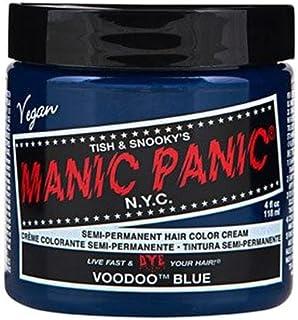 マニックパニック カラークリーム ブゥードゥーブルー