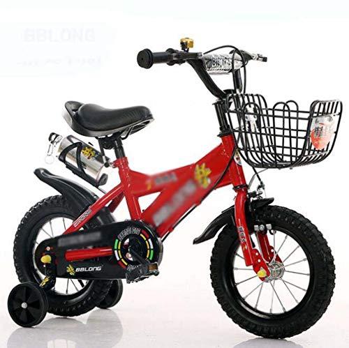 COUYY Flash-Rad Kinder Fahrräder 1-3-6 Jahre alt Kinder Fahrräder Jungen und Mädchen Kinderwagen 12 Zoll 14 Zoll...