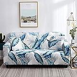 WXQY Funda Protectora de sofá de línea Irregular combinación de Funda de sofá Antideslizante de Paquete Ajustado Funda de sofá de Esquina en Forma de L A10 de 4 plazas