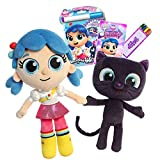 Aurora True and The Rainbow Kingdom - True and Bartleby Ultimate Gift Bundle with Magic Ink Coloring and Mini Activity Book and Swagll Crayons