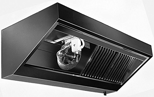 Pared Campana con motor (Longitud X Profundidad): 300 x 70 cm con protección ignífuga filtro clase A: Amazon.es: Grandes electrodomésticos