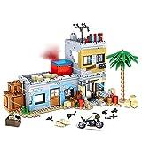 KOAEY WW2 Militär Waffen Set Schießspielszene Baustein Spielzeugset für Minifiguren Soldaten, 912 Teile Waffenzubehör Set Kompatibel mit Lego