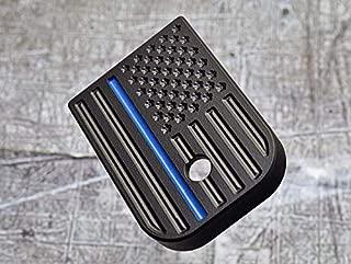 Milspin Thin Blue Line Glock Magazine Base Plate