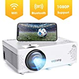 Projector VicTsing Portable Mini Projector Bluetooth Projector 3800 Lumens Support 1080P 176'' Display