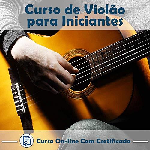 Curso online em videoaula sobre Violão - Básico com Certificado + 2 brindes