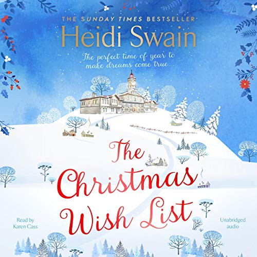 The Christmas Wish List audiobook cover art