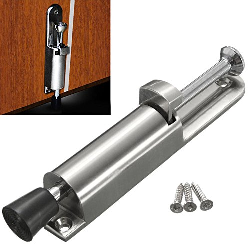 Butoir de porte robuste en alliage de zinc pour pare-chocs en caoutchouc souple à ressort pour la maison ou le bureau