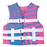 Airhead Youth Trend Life Vest, Hot Pink/Sky Blue, Model Number: 10081-03-A-HPSB
