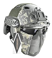 best quality airsoft helmet