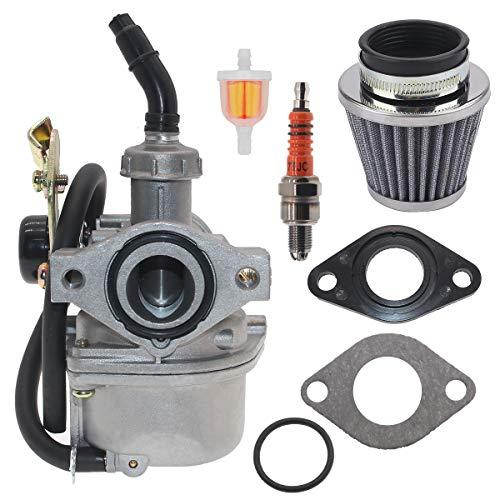 PZ19 carburetor for Atv carburetor 110cc Compatible tao tao 110 carburator 110cc pit bike carburetor Compatible TaoTao Baja 50 70 90 110 125cc Atv Pit Dirt Bike Go kart engine