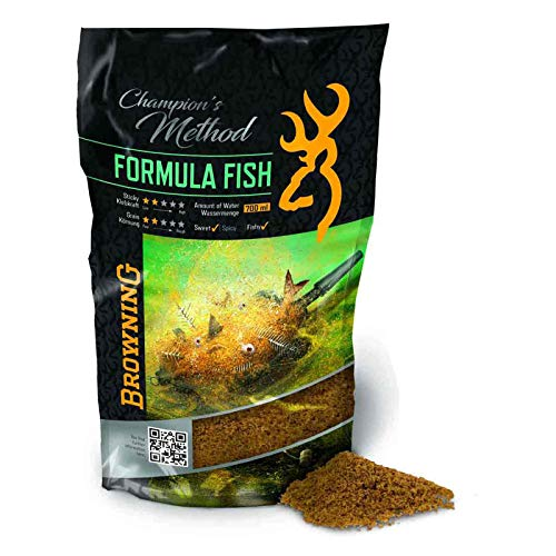 Browning Champion's Method Formula Fish       Natur Scopex Karamell 1kg