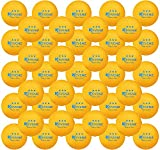 KEVENZ 60-Pack Premium 3-Star 40mm Orange Table Tennis Balls,Competition Quality Ping Pong Ball