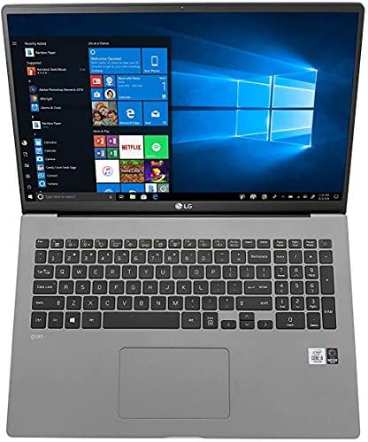 LG gram 17 Zoll Ultralight Notebook - 1,35 kg leichter Intel Core i7 Laptop (16GB DDR4 RAM, 1 TB SSD, 17 h Akkulaufzeit, IPS Display, Thunderbolt 3, Windows 10 Home) - Dunkelgrau