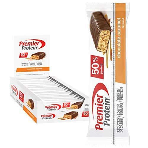 Premier Protein Protein Bar Chocolate Caramel 24x40g - Barra
