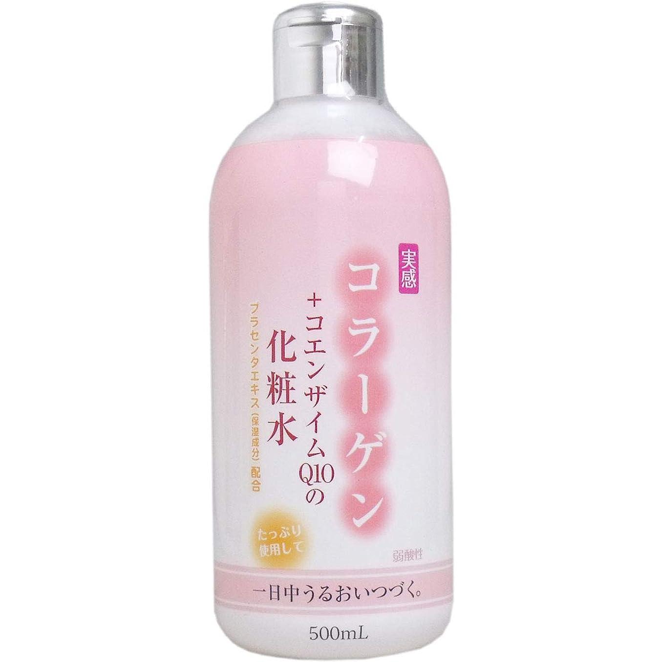 気球甘味広々コラーゲン+コエンザイムQ10 化粧水 500mL