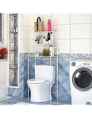 sarah Opbergrek voor Toilet 3-Laags zwart Opbergrekken Rek Rekken