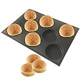 amzchoice silicona antiadherente para horno LINERS (Pan molde Pan molde redondo