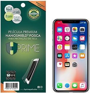 Pelicula NanoShield Fosca para Apple iPhone X/XS, HPrime, Película Protetora de Tela para Celular, Transparente
