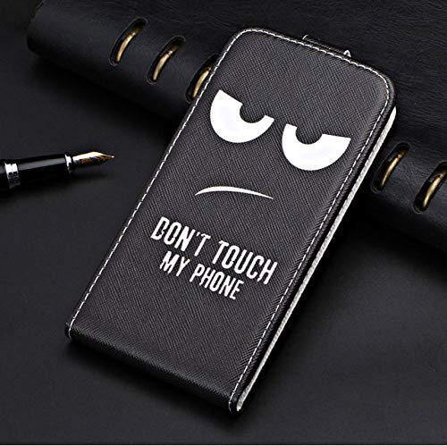 funda de teléfono para iPhone X XR 6 6S 7 8 Plus funda de teléfono con tapa retro, adecuada para iPhone XS Max, funda protectora de patrón de bolsa de teléfono de color sólido, ojos, para iphone 6