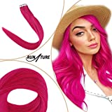 RUNATURE 20inch Hair Extensions Tape-ins