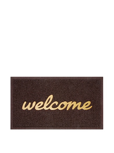 Preisvergleich Produktbild Budroom BUD1126 Türmatte Welcome Kunststoff