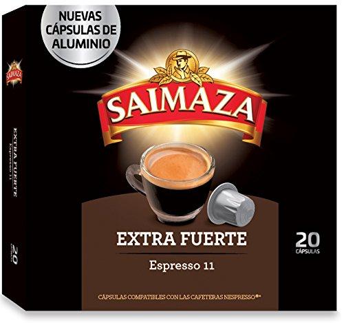 Saimaza Café Espresso Extra Fuerte Intensidad 11 - 20 Cáps