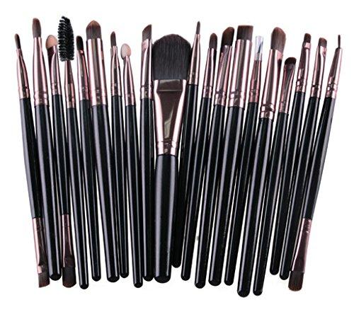 Bigood Pinceau Maquillage Professionnel Cosmétique Beauté 20Pcs Outils