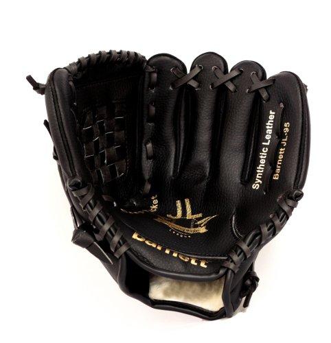 JL-95 REG schwarz Baseballhandschuh Infield Gr 9,5'' (für die Rechtshänder, Wird an der linken Hand getragen)