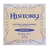 HISTORY HEGSN011 エレキギター弦 B-2nd .011 バラ弦1本 (ヒストリー)