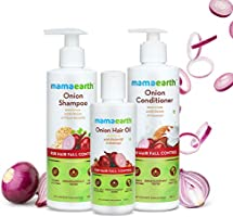 Mamaearth Anti Hair Fall Spa Range with Onion Hair Oil Oni