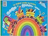 Selvi 3600 - 10 Papel de seda colores surtidos
