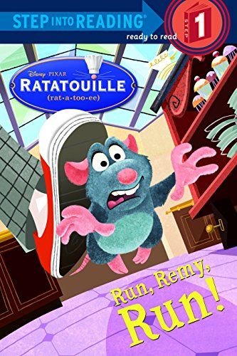 Run, Remy, Run! (Disney/Pixar Ratatouille) (Step into Reading)の詳細を見る