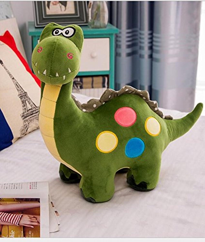 Cute and Soft Weiches Dinosaurier-Plüsch-Spielzeug 40cm Dinosaurier-Plüsch-angefülltes Tier-Spielzeug-Ausgangsdekoration (Amry-Grün) B07HQKTZGH  Bestellung willkommen | Kostengünstig