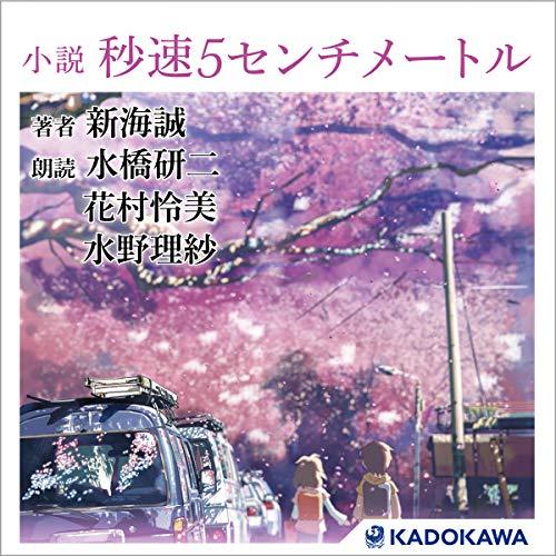 『小説 秒速5センチメートル』のカバーアート