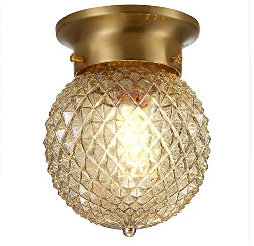Wandlamp wandlamp wandlamp wandlamp wandlamp wandlamp moderne eenvoudige lampen plafondlamp van echt messing en gekleurde nagellak Creative