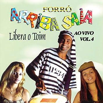 Vol. 4  Ao Vivo - Forró
