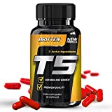 T5 Fat Burner - For Men And Women - Free Diet Plan With Every Order! - 60 Capsules - 1 Month Supply - 100% Money Back Guarantee by Britten Nutrition
