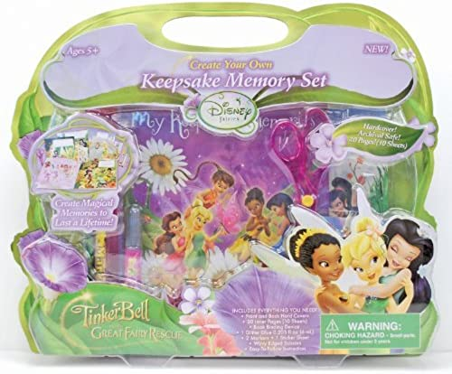 colores increíbles Horizon Group USA USA USA Disney Fairies Keepsake Memory Book by Horizon Group USA  suministramos lo mejor