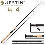 Westin W4 Powershad 270 cm XH 30-90g Spinnrute Spinnrute für Hecht, Zander Angelrute zum Hechtangeln, Rute zum Zanderangeln, Angel zum Spinnfischen, 2-teilige Rute